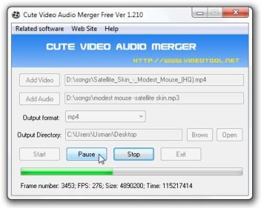 Merge Audio dan Video