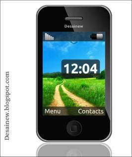 Tutorial desain vektor smartphone Iphone di Inkscape Vector Design